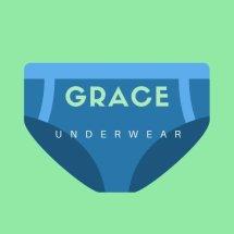Logo Grace underwear