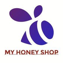 Logo my honey shop