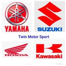 Logo twin motor sport