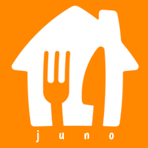 Logo JUNO fresh and frozen food