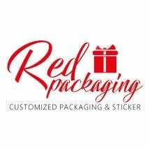 Logo red packaging