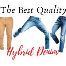 Logo Hybrid Denim