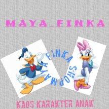 Logo MAYA FINKA KAOS KARAKTER