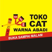 Logo Toko Cat Warna Abadi