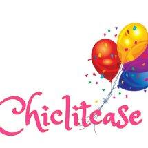 Logo chic lit case