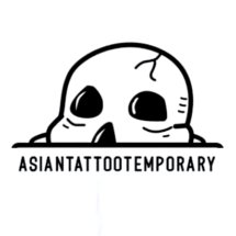 Logo Asian Tattoo Temporary