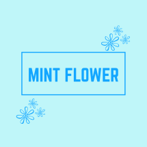 Logo Mint Flower
