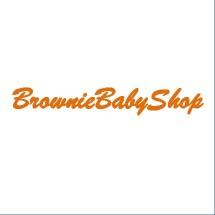 Logo brownie baby shop