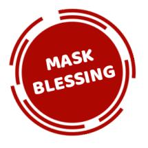 Logo Mask-Blessing