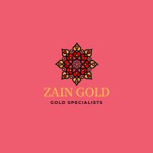 Logo Zain Gold
