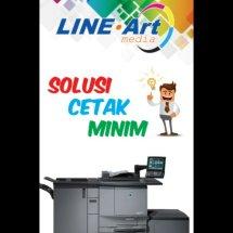 Logo line art printing