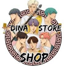 Logo Dina Store Shop