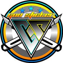 Logo gunsticker