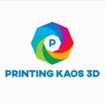 Logo Kaos Printing 3D