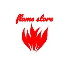 Logo flamestore