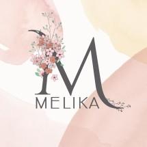 Logo Melika Clothing