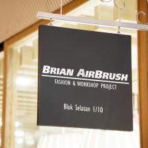Logo Brian Airbrush Shop