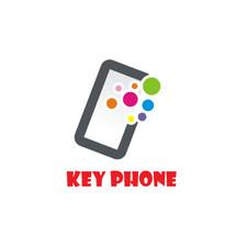 Logo KEY PHONE CELLULAR