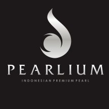 Logo Pearlium - Mutiara Lombok Premium