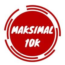 Logo MAKSIMAL 10K