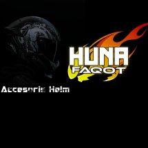 Logo Huna Faqot Helmet