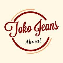 Logo toko jeans akmal