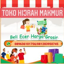 Logo Toko Hijrah Makmur