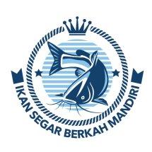 Logo Ikan Segar Berkah Mandiri