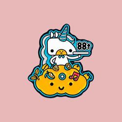 KOKUMI x 88rising Pin - CLOUD