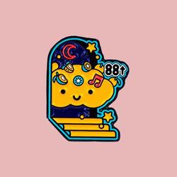 KOKUMI x 88rising Pin - 88