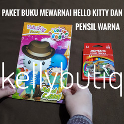Jual Mewarnai Hello Kitty Terlengkap Harga Murah August 2021