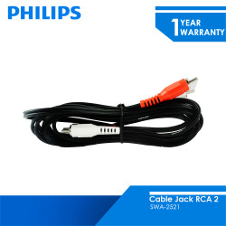 Philips Cable Jack RCA 2 SWA-2521 1.5 Meter