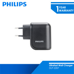 Philips Dual USB Home Charger 10.5W DLP2207