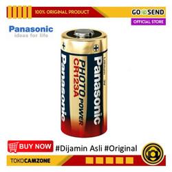 Battery Panasonic CR123A Baterai Panasonic CR-123A