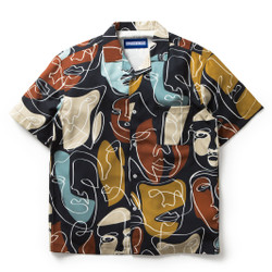Kemeja Motif Pria / Contour / Contour Matisse Shirt