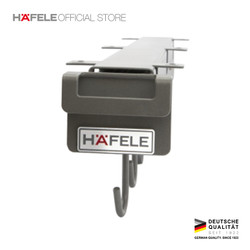 Hafele Pan Hanger - Gantungan Tarik/Dorong untuk Panci & Wajan - Abu2