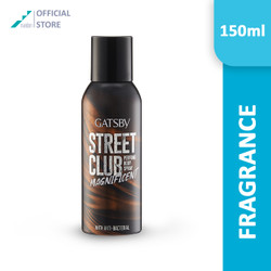 GATSBY Street Club Perfume Body Spray Magnificent
