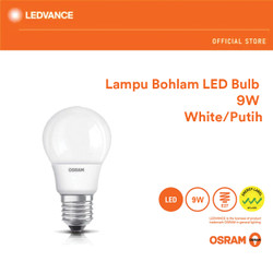 Osram Lampu Bohlam LED 9 Watt 1 Pcs - Putih