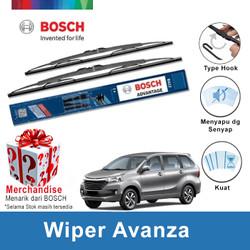 "Bosch Sepasang Wiper Kaca Mobil Toyota Avanza Advantage 16""&20""-2 Buah"