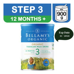 Bellamy's Organic STEP 3 TODDLER MILK DRINK (12+ months)