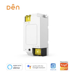 DEN Smart Home WiFi Breaker/Switch for Home Automation (Alexa/Google)