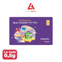 Lotus Archi Gold Gift Series 0,5 gr Best Wishes To You