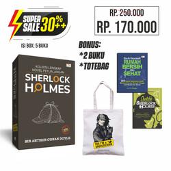 Super Sale Koleksi Lengkap Novel Petualangan Sherlock Holmes