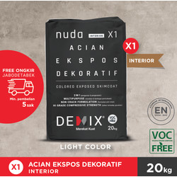 DEMIX X1 - NUDA ACIAN EKSPOS DEKORATIF INTERIOR (LIGHT COLOUR)