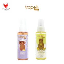 Tropee Bebe - Paket Minyak & Shampo Kemiri (Baby Hair Spa) 100ml