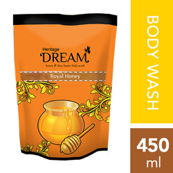 Dream Heritage Honey & Shea Butter Body Wash Refill 450 ML