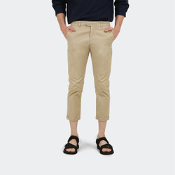 Hubbu Celana Panjang Chino Pria A07014H Coklat Muda