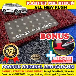 Karpet Mobil Mie Bihun All New RUSH Non Bagasi - Bahan 1 Warna