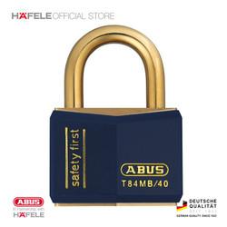 Abus Padlock Brass T84MB/40 - Gembok Anti Maling - Warna Biru