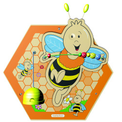 Mainan Anak - Beleduc - Wall Element Bee